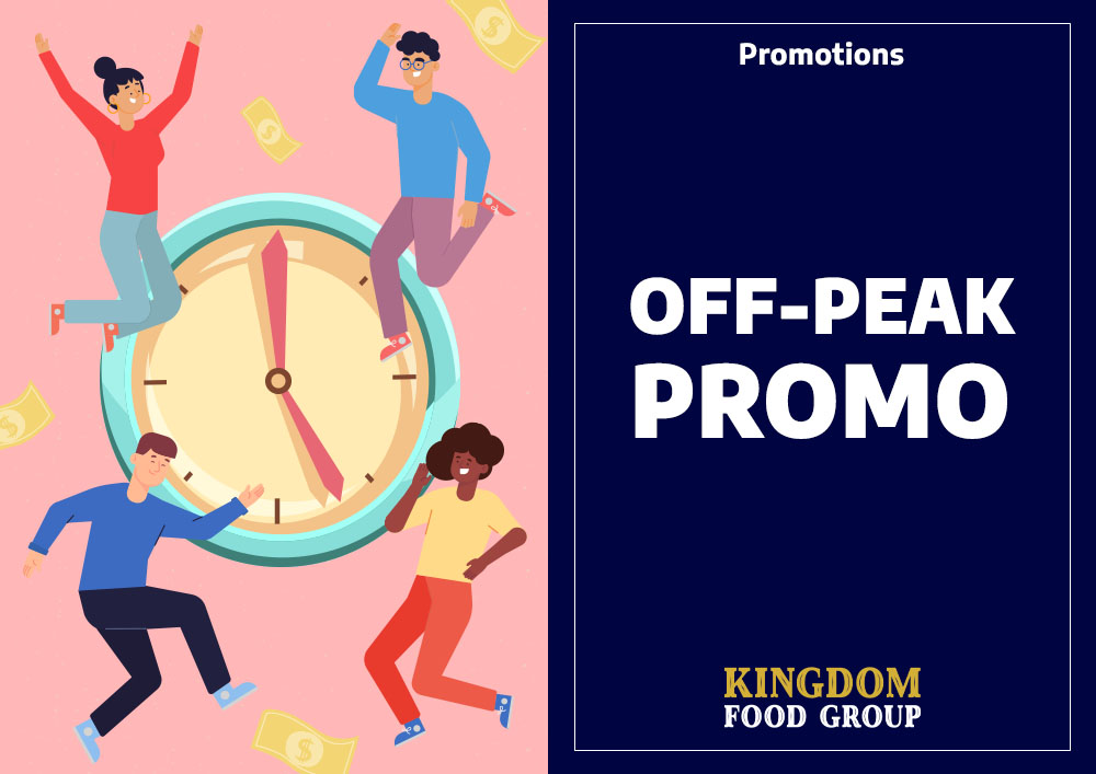2) Promotions (Off Peak)
