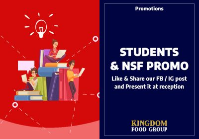 12) Promotions (Students & NSF Promo - Clementi)