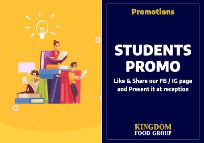 8) Promotions (Students Promo)