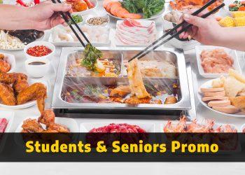 GoroGoro T1 - Students & Seniors Promo